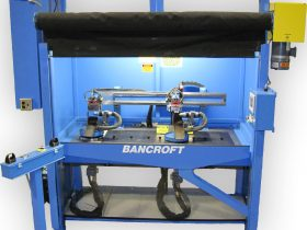 custom automated welding machinery