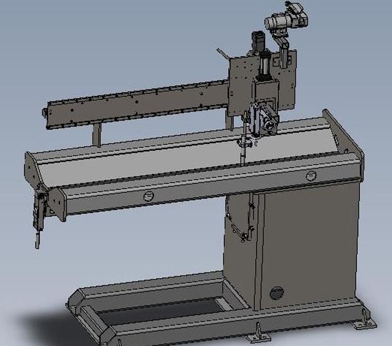 4 inch Seamer Solid Model
