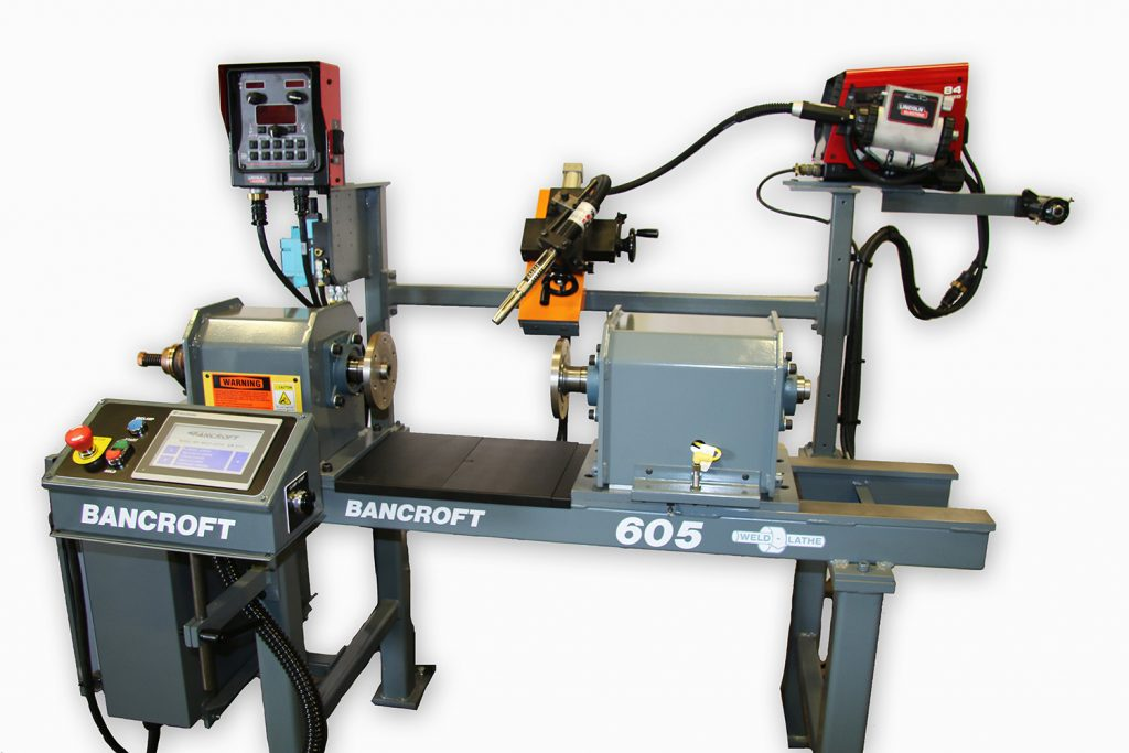precision weld lathe machine