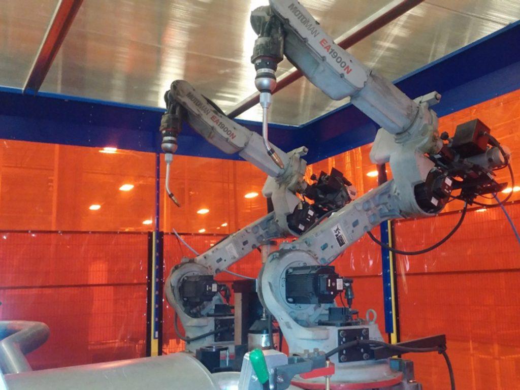 welding equipment upgrade