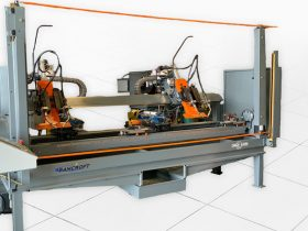 synchronized drive weld lathe