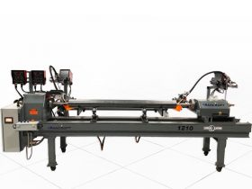 semi automated weld lathe machine