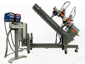 Custom Weld Lathe machine