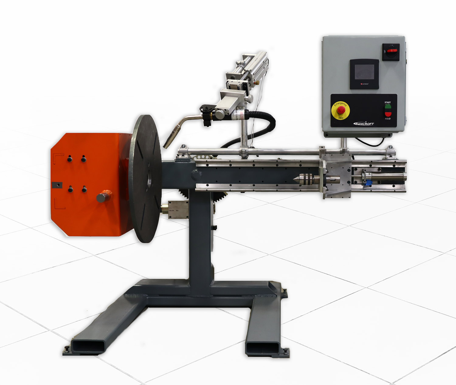 automated welding positioner